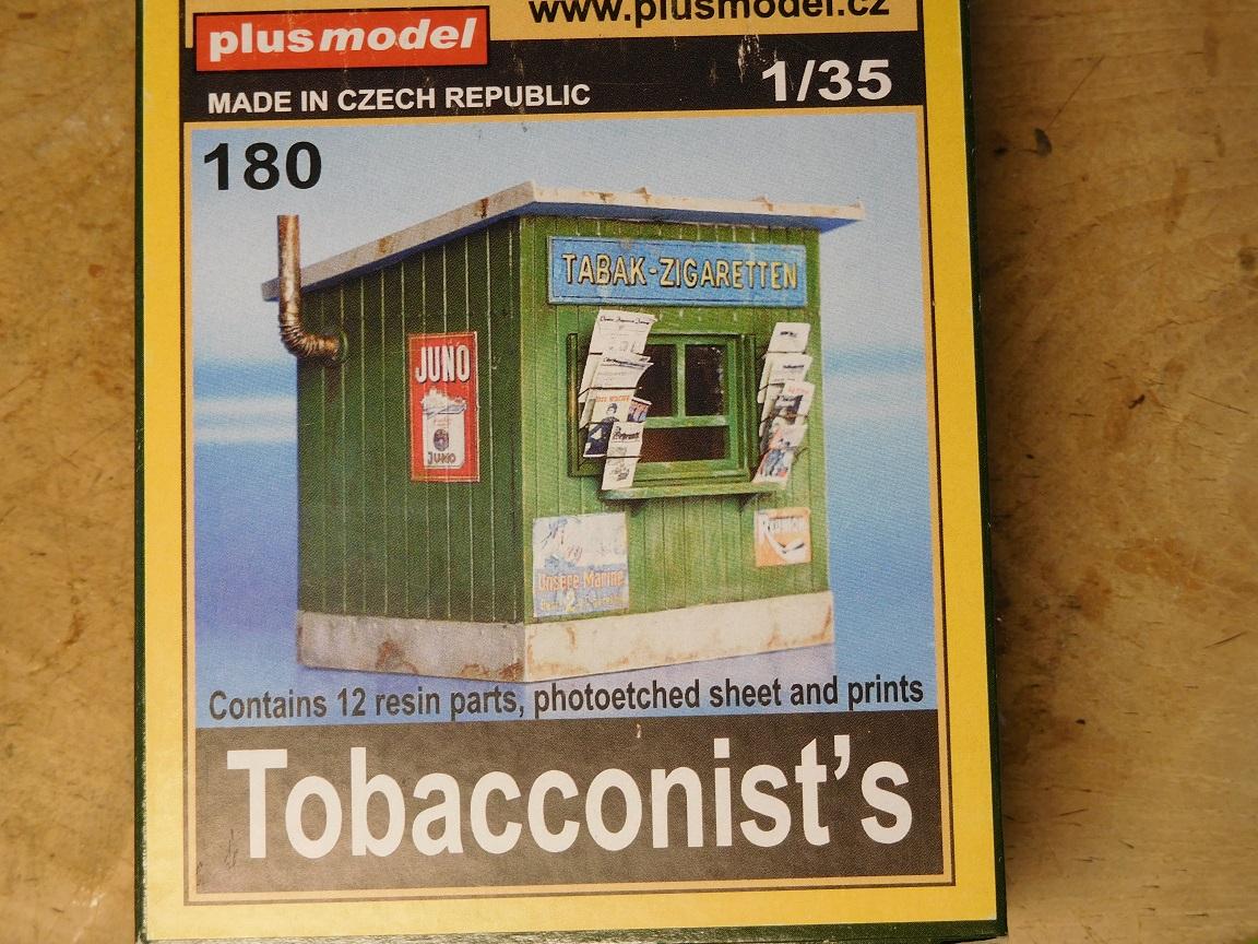 Plus model 180 Zigaretten Kiosk in 1:35